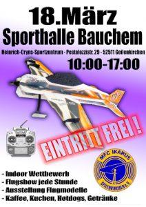 Hallenflug-Event 2018 @ Turnhalle Geilenkirchen-Bauchen | Geilenkirchen | Nordrhein-Westfalen | Deutschland